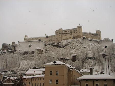 Snow siege