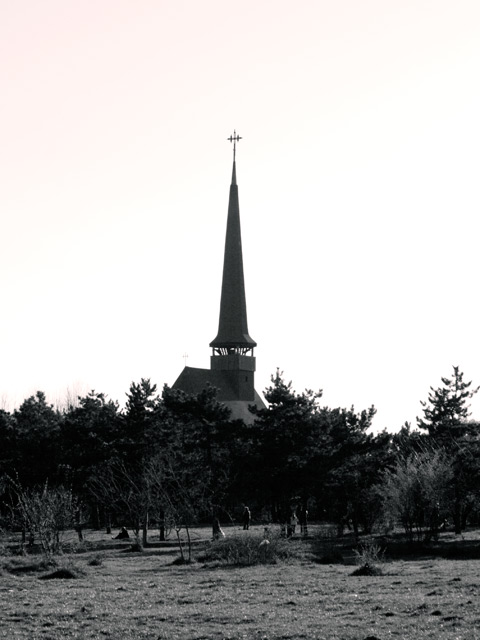 Wood Church from Titan (IOR) Park