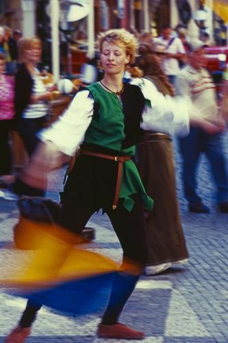 Medieval dancer