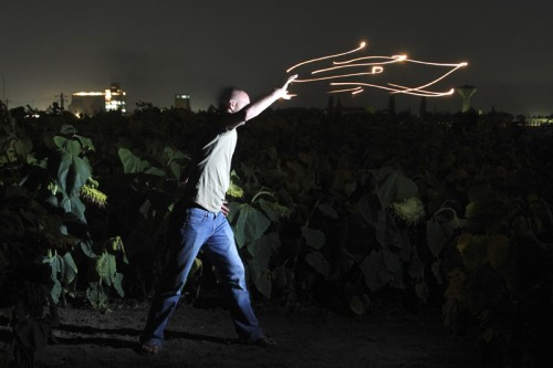 Flame throw