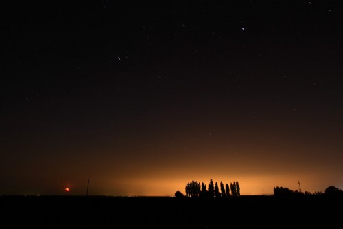 Bucharest night lights