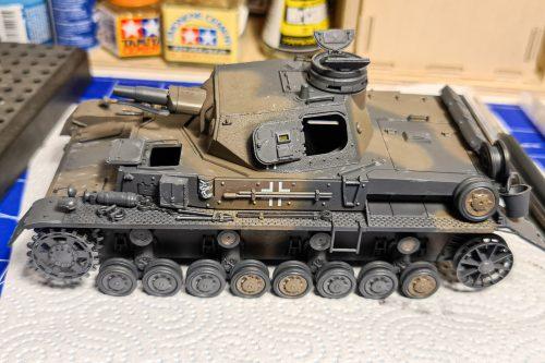 Panzer IV ausf D - after decals