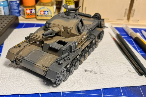 Panzer IV ausf D - before weathering #2