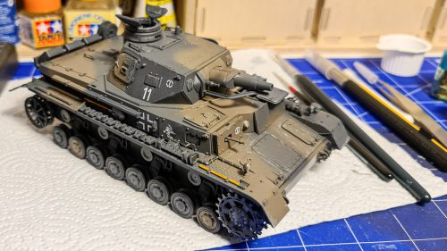 Panzer IV ausf D - before weathering #1