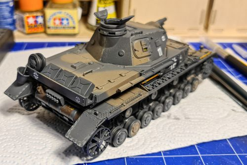 Panzer IV ausf D - before weathering #3