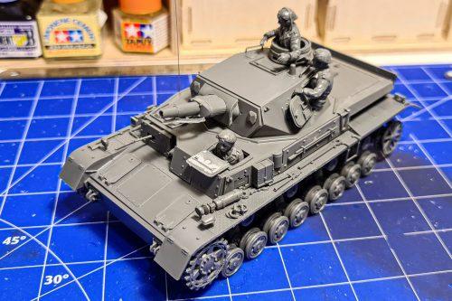 Panzer IV ausf D by Tamiya - Final assembled